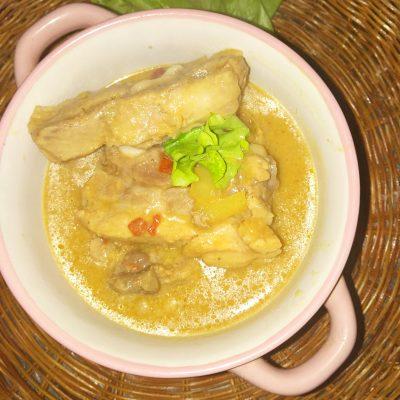 Свиные ребрышки восточные с овощами - рецепт с фото