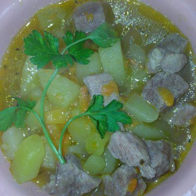Фото рецепта - Картофельное рагу со свининой - шаг 5