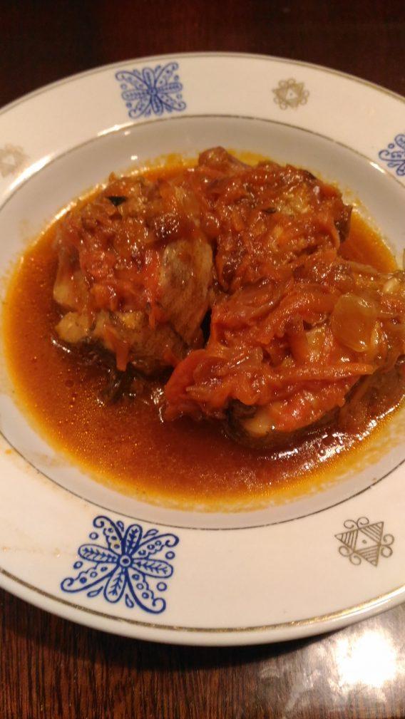 Фото рецепта - Тушеный минтай с овощами - шаг 6