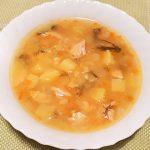 Гороховый суп на курице