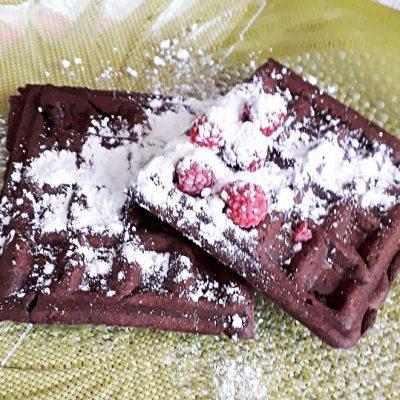 Шоколадные вафли - рецепт с фото