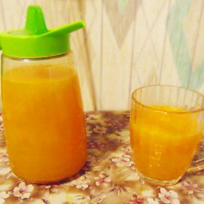 Облепиховый компот с имбирём - рецепт с фото