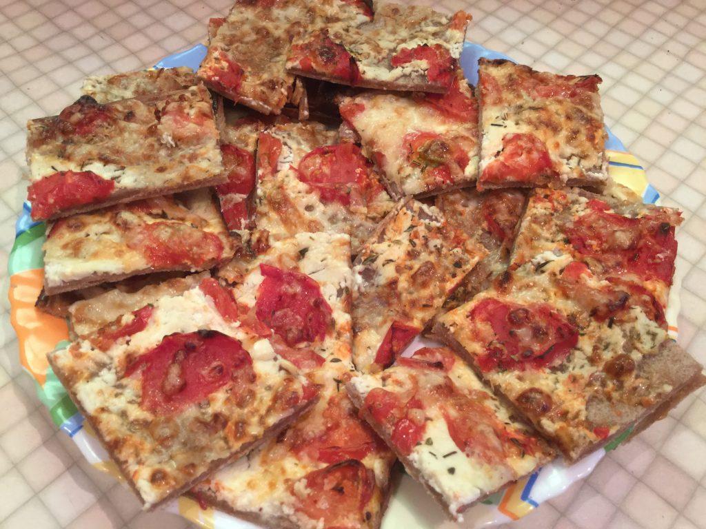 Фото рецепта - Пицца «Пламенный пирог» - шаг 9