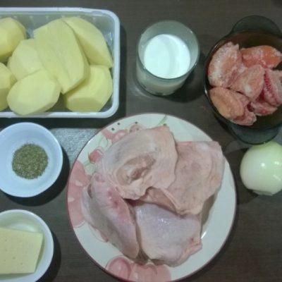 Фото рецепта - Курочка в кефире, запеченная с картошкой - шаг 1