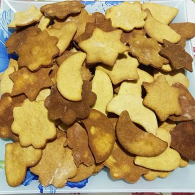 Домашние сладкие крекеры из песочного теста - рецепт с фото