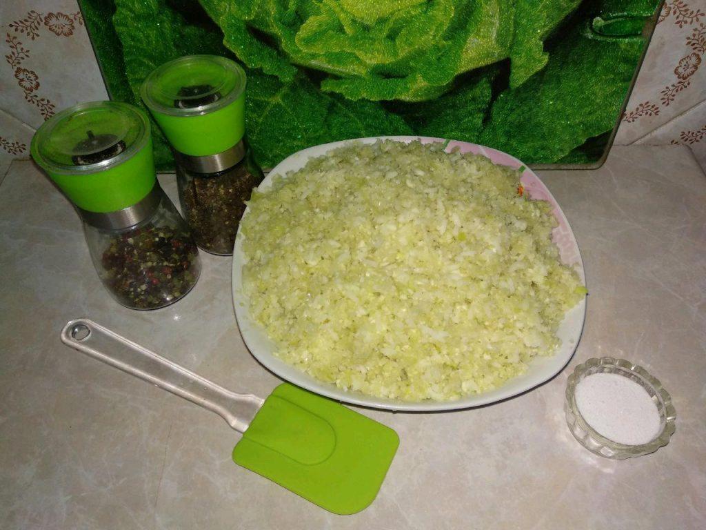 Фото рецепта - Ленивые голубцы с рисом - шаг 2