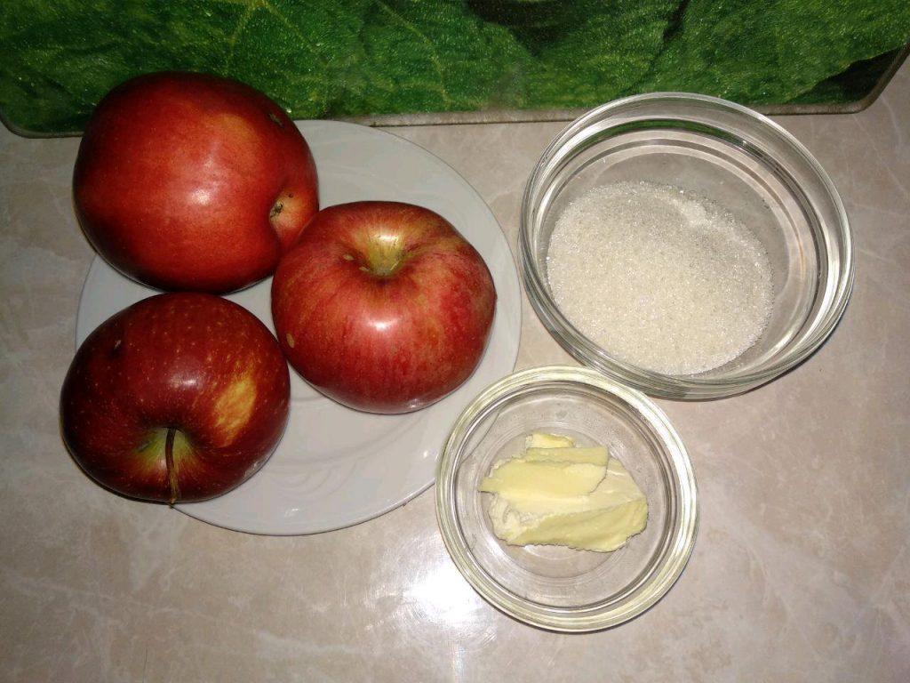 Фото рецепта - Блинчики на молоке с яблоками и корицей - шаг 4