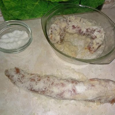 Фото рецепта - Бастурма в домашних условиях из свинины - шаг 1