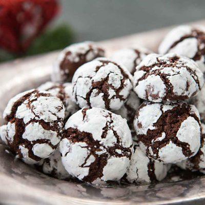 Шоколадное мраморное печенье - рецепт с фото