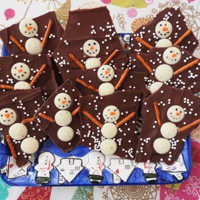 Новогодние конфеты своими руками — «Снеговики» - рецепт с фото