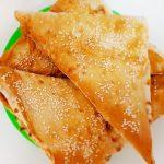 «Ленивые» хачапури с творожно-сырной начинкой