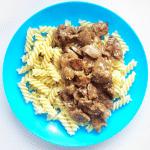 Куриные сердечки с устричным соусом
