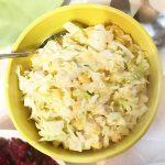 Салат с пекинской капустой, кукурузой и курицей
