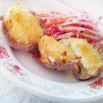 Картофельно-мясные маффины