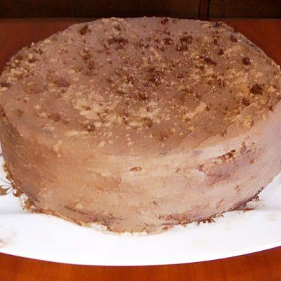 Фото рецепта - Шоколадный бисквитный торт - шаг 4