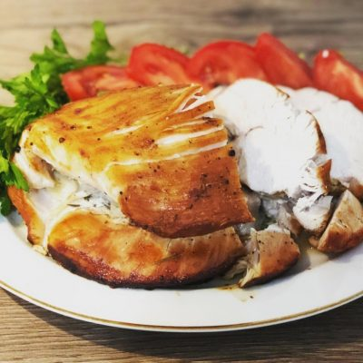 Сочное филе индейки в духовке - рецепт с фото