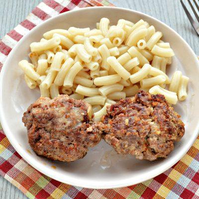 Говяжьи котлеты с картофелем - рецепт с фото
