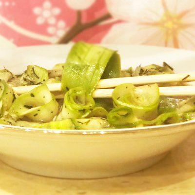 Кабачки маринованные по-корейски - рецепт с фото