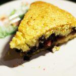 Яблочно-черничный пирог на сметане