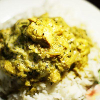 Куриное филе-карри на сковороде - рецепт с фото