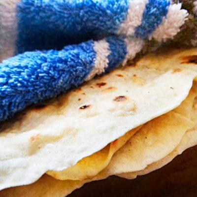 Лаваш в домашних условиях (тесто) - рецепт с фото
