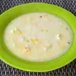 Сливочно-сырный суп с вермишелью