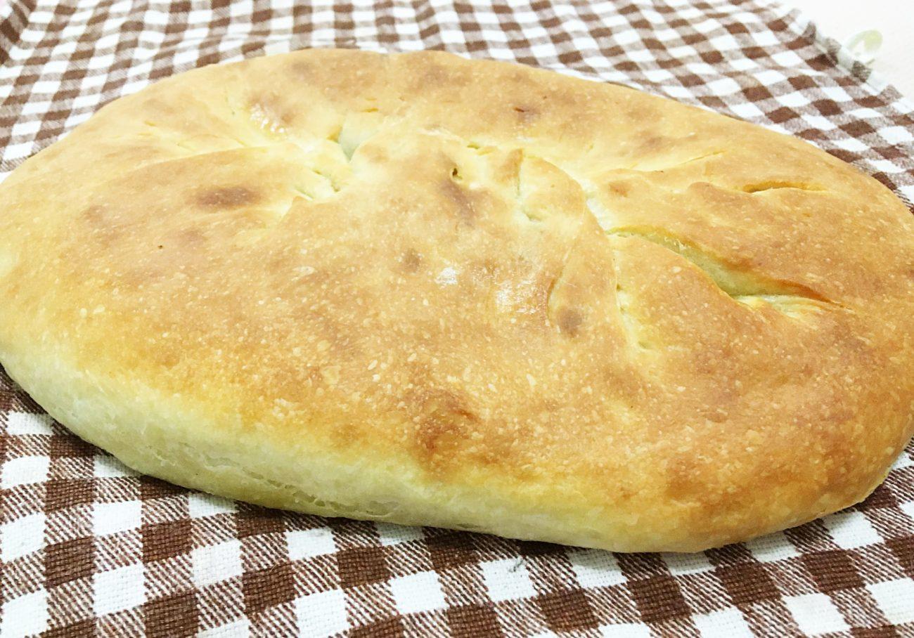 Осетинский пирог с мясом (дрожжевое тесто)