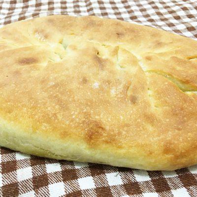 Осетинский пирог с мясом (дрожжевое тесто) - рецепт с фото