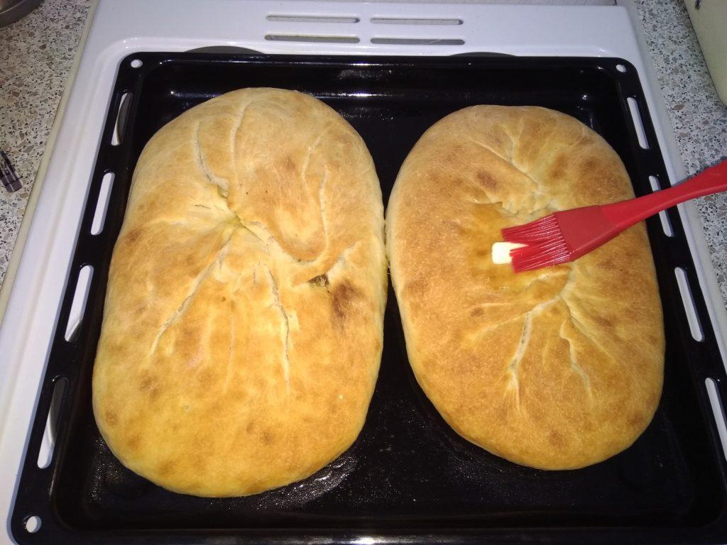 Фото рецепта - Осетинский пирог с мясом (дрожжевое тесто) - шаг 9
