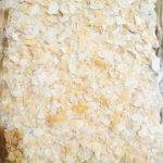 Праздничный пирог из коржей и рыбной консервы (без выпечки)