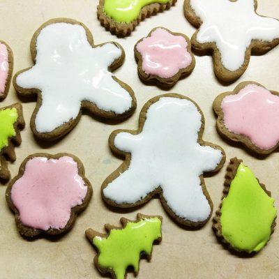 """Имбирное печенье """"Веселого Рождества"""" - рецепт с фото"""