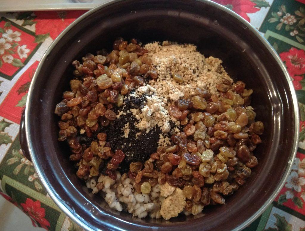 Фото рецепта - Кутья рождественская на перловке - шаг 5