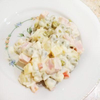 Салат «Оливье» с солеными огурцами - рецепт с фото