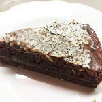 Шоколадный пирог с кокосовой стружкой на молоке