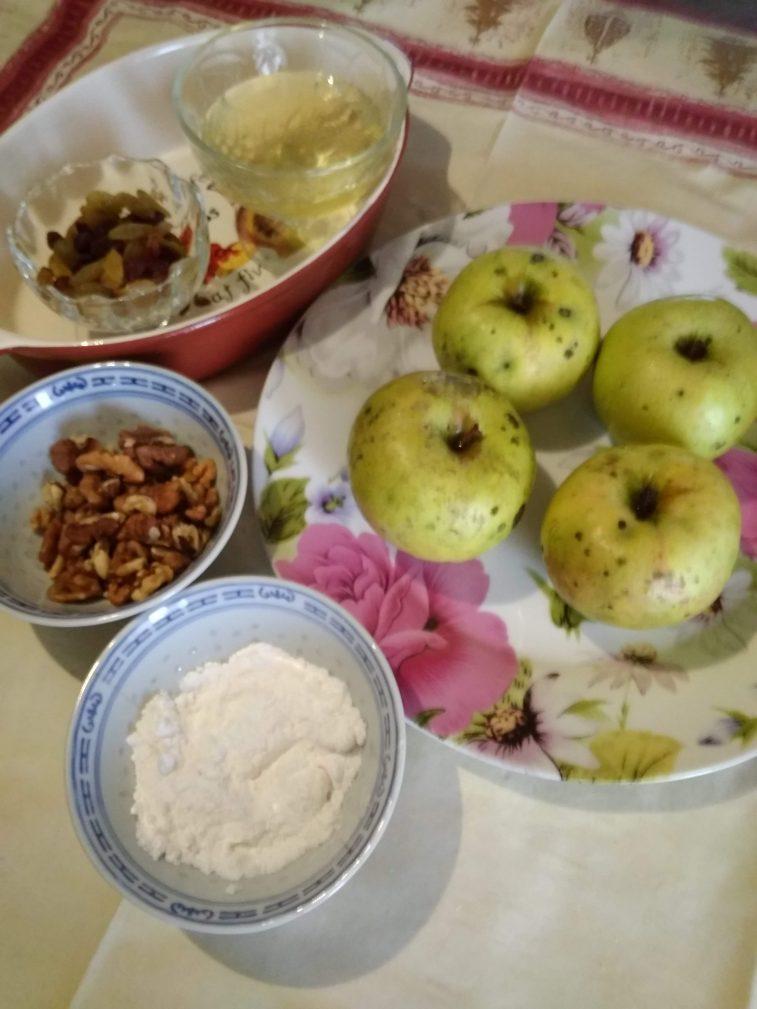 Фото рецепта - Яблочки, запечённые с мёдом - шаг 1