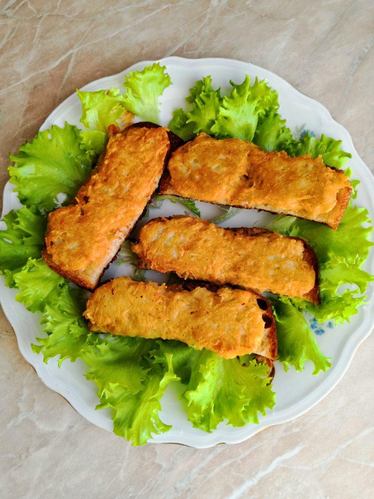 Фото рецепта - Картофельные драники на хлебе - шаг 8
