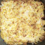 Запеченная фасоль с куриной грудкой под сырной шубкой