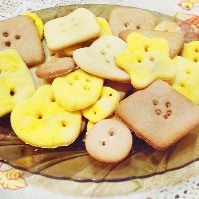 Печенье «Пуговки» - рецепт с фото
