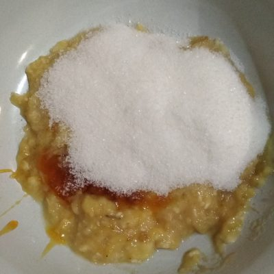 Фото рецепта - Бананово-медовое печенье (постное) - шаг 3