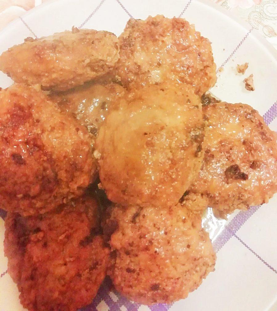 Фото рецепта - Котлетки курино-свиные - шаг 9