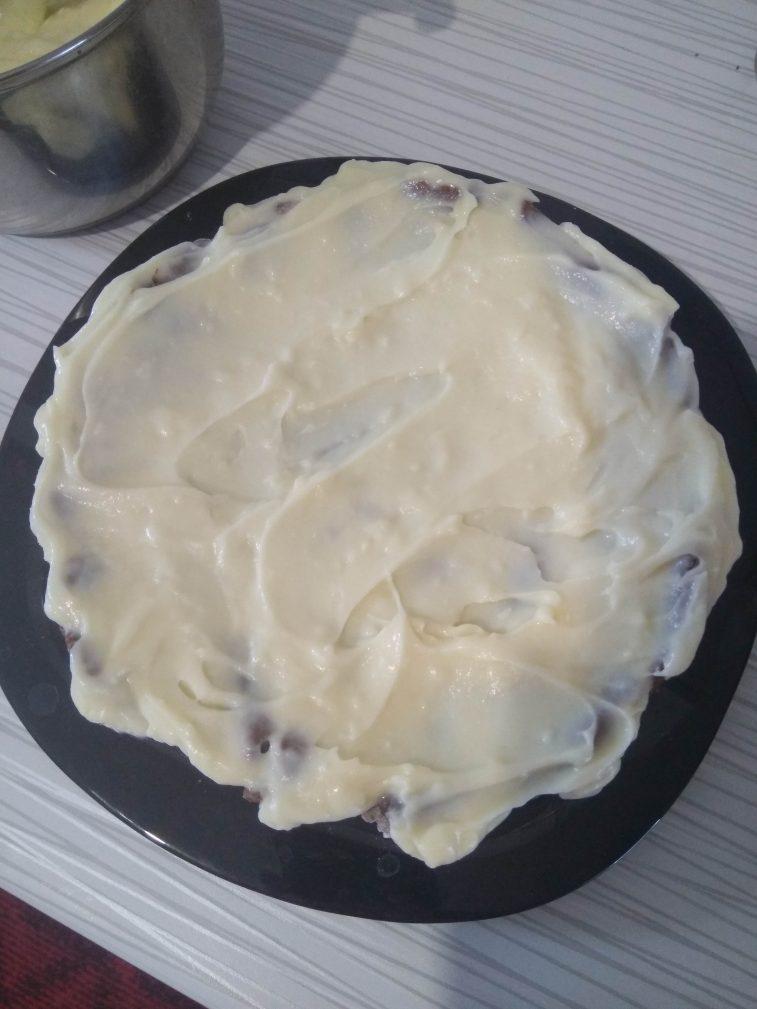 Фото рецепта - Шоколадный торт «Спартак» - шаг 5