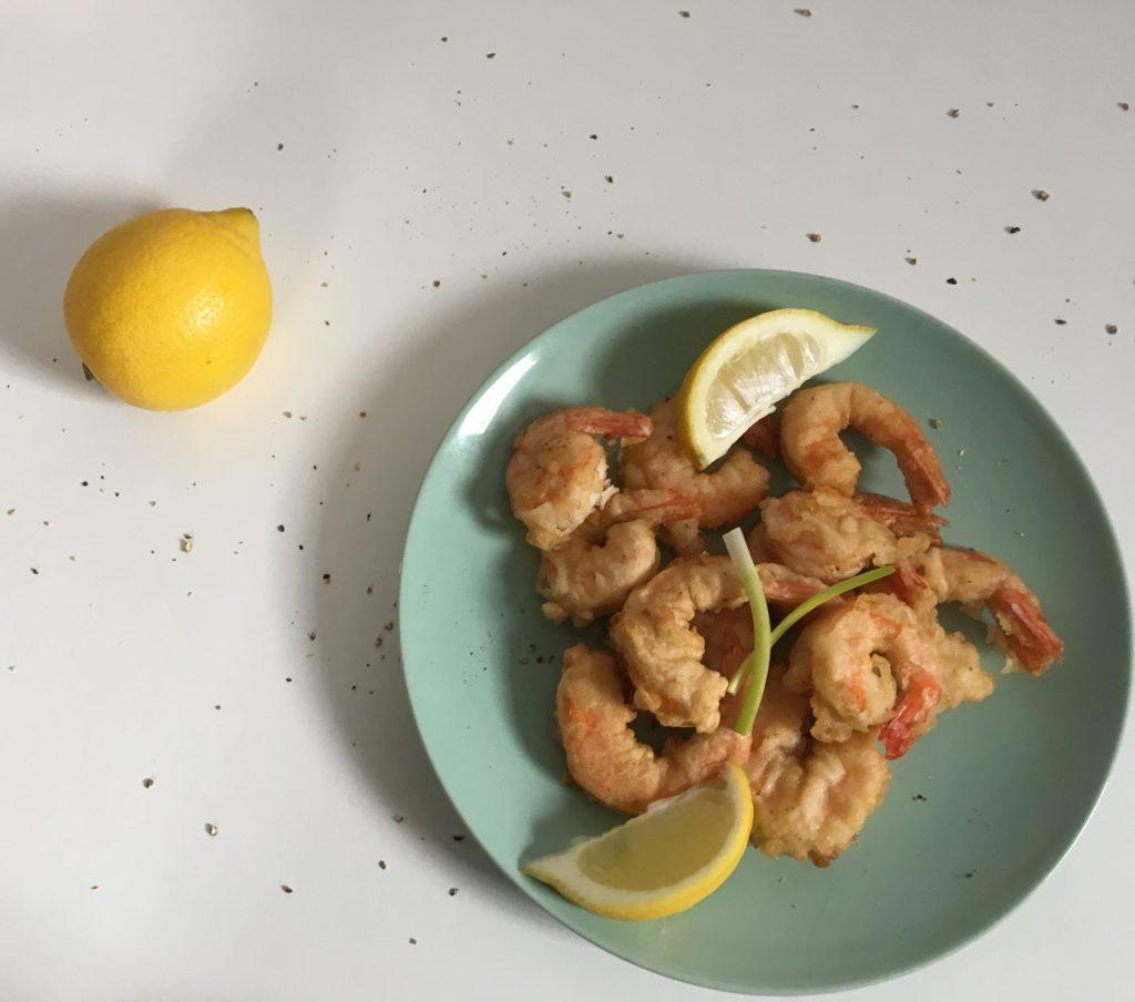 Фото рецепта - Креветки в кляре — рецепт - шаг 7