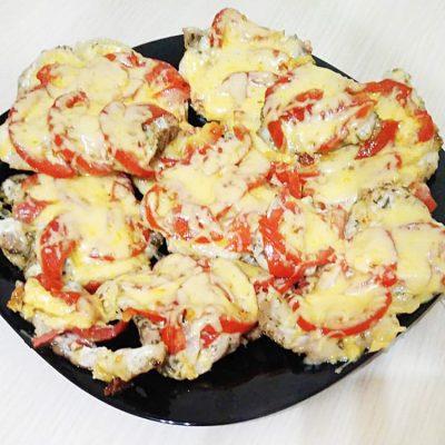 Мясо по-французски с томатами - рецепт с фото