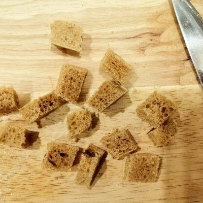 Фото рецепта - Салат «Цезарь» по версии правильного питания - шаг 4