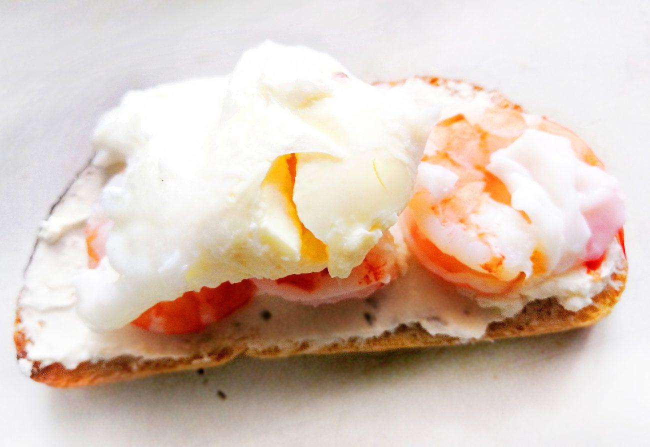 Бутерброд «Утренний» с яйцом