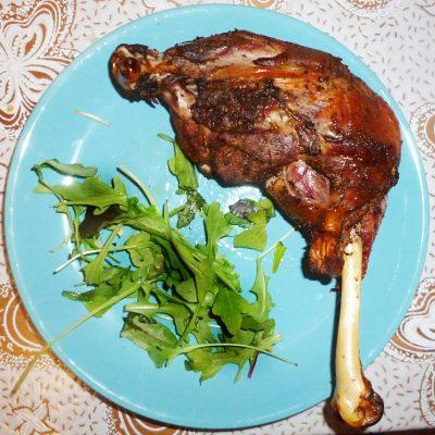 Ароматная куриная голень в духовке - рецепт с фото