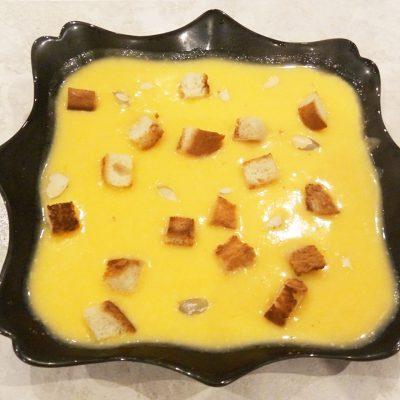 Тыквенный крем-суп на сливках - рецепт с фото