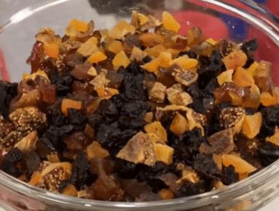 Фото рецепта - Рождественский кекс с сухофруктами и орехами - шаг 2