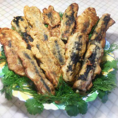 Вегетарианские рыбки в кляре (жареный сыр) - рецепт с фото