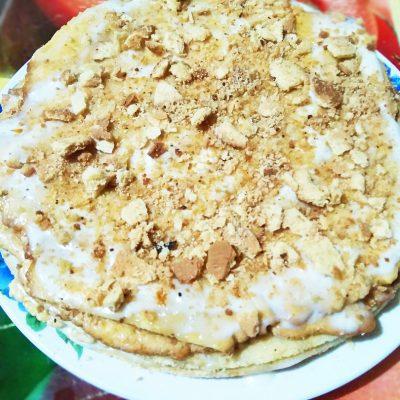 Нежный медовик со сметанным кремом - рецепт с фото